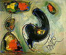 Misterious Approach II 1946 - Hans Hofmann reproduction oil painting