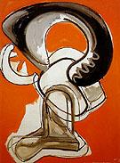 Furry 1946 - Hans Hofmann reproduction oil painting