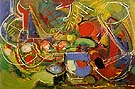 Abundance 1947 - Hans Hofmann reproduction oil painting