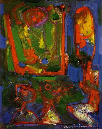Asklepois 1947 - Hans Hofmann reproduction oil painting