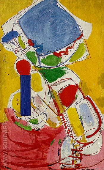 Solstice 1946 - Hans Hofmann reproduction oil painting