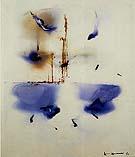 Maiden Dance 1964 - Hans Hofmann reproduction oil painting
