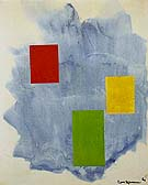The Southwind 1964 - Hans Hofmann reproduction oil painting