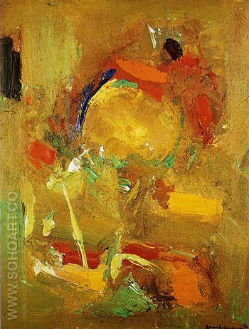 Genius Logic 1963 - Hans Hofmann reproduction oil painting