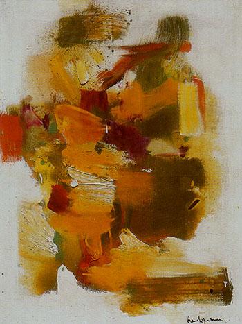 Golden Autumn 1963 - Hans Hofmann reproduction oil painting