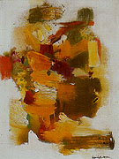 Golden Autumn 1963 - Hans Hofmann reproduction oil painting