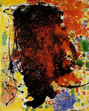 Vendetta 1962 - Hans Hofmann reproduction oil painting
