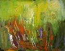 First Sprouting 1961 - Hans Hofmann reproduction oil painting