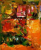 In the Wake of the Hurricane 1960 - Hans Hofmann reproduction oil painting