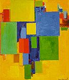 Auxerre France St Etiennes Glorious Light 1960 - Hans Hofmann reproduction oil painting