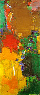 Rhapsody 1958 - Hans Hofmann reproduction oil painting