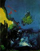 Oceanic 1958 - Hans Hofmann reproduction oil painting