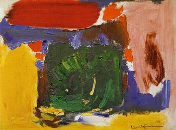 Daybreak 1958 - Hans Hofmann reproduction oil painting