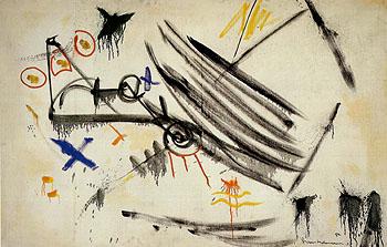 White Expansion 1954 - Hans Hofmann reproduction oil painting