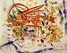 Laburnum 1954 - Hans Hofmann reproduction oil painting
