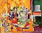 Orchestral Dominance in Yellow 1954 - Hans Hofmann reproduction oil painting