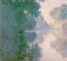 Morning on the Seine Good Weather 1897 - Claude Monet reproduction oil painting