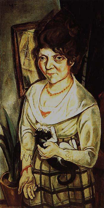 Portrait of Feidel Battenberg - Max Beckmann reproduction oil painting