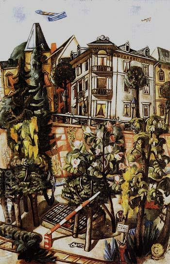 The Nizza in Frankfuri am Main 1921 - Max Beckmann reproduction oil painting