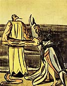 The Serpent King and the Stagbeetle Bride 1933 - Max Beckmann reproduction oil painting