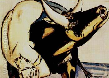 Odysscus and the Siren 1933 - Max Beckmann reproduction oil painting
