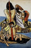 Rape of Europa - Max Beckmann reproduction oil painting