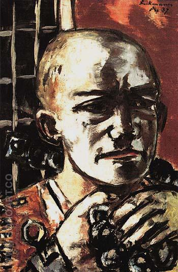 Released 1937 - Max Beckmann reproduction oil painting