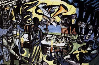 Death 1938 - Max Beckmann reproduction oil painting
