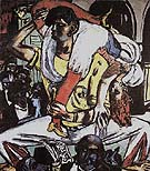 Apache Dance 1938 - Max Beckmann reproduction oil painting