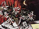 Turkish Lilies 1937 - Max Beckmann reproduction oil painting