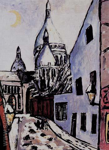 Sacre Coeuw in Snow 1939 - Max Beckmann reproduction oil painting