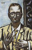 Portrait of Morton D May 1949 - Max Beckmann reproduction oil painting