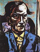 Portrait of Fred Conway 1949 - Max Beckmann reproduction oil painting