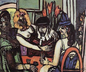 The Prodigal Son 1949 - Max Beckmann reproduction oil painting