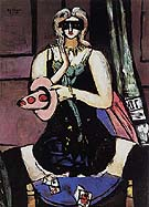 Carnival Mask Green Violet and Pink 1950 - Max Beckmann