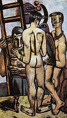 The Argonauts II 1950 - Max Beckmann reproduction oil painting