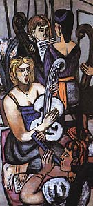 The Argonauts III 1950 - Max Beckmann reproduction oil painting