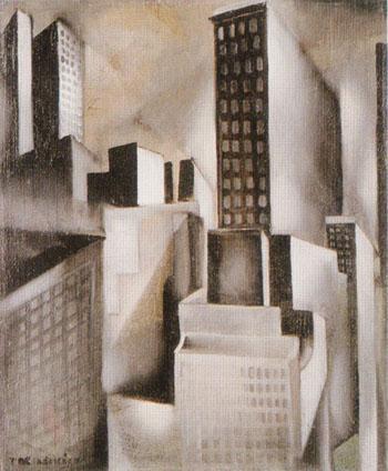 New York 1929 - Tamara de Lempicka reproduction oil painting