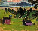 View of the Murnau Moors 1908 - Gabriele Munter