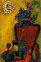 Still Life with Chair 1909 - Gabriele Munter