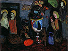 Dark still Life Secret 1911 - Gabriele Munter reproduction oil painting