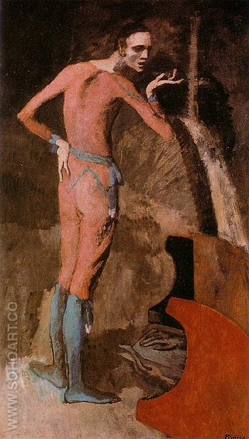 The Actor 1904 - Pablo Picasso reproduction oil painting