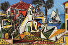Mediterranean Landscape 1952 - Pablo Picasso reproduction oil painting