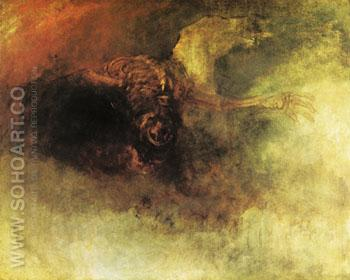 Death on a Pale Horse - Joseph Mallord William Turner reproduction oil painting