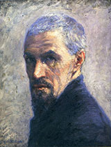 Self Portrait 1892 - Gustave Caillebotte reproduction oil painting