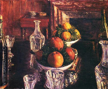 Still Life 1879 - Gustave Caillebotte reproduction oil painting