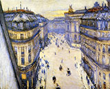 Rue Halevy Seen from Sixth Floor 1878 - Gustave Caillebotte