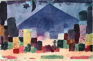 Der Niesen 1915 - Paul Klee reproduction oil painting