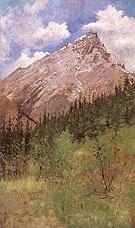 Banff Cascade Mountain 1890 - Frederic Remington