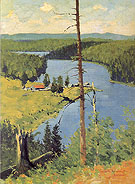 The Moose Country 1909 - Frederic Remington